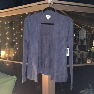 Old Navy Pretty Blue, Open Cardigan Sweater NWT